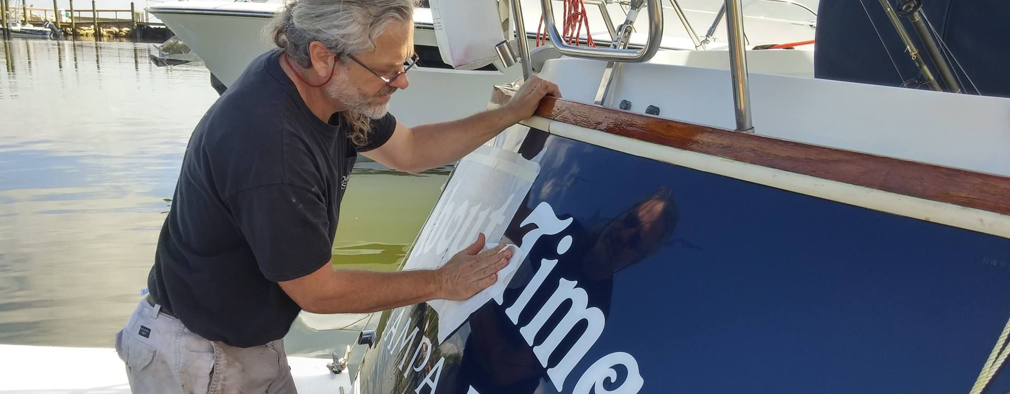 Custom Boat Lettering Installed Locally Names St